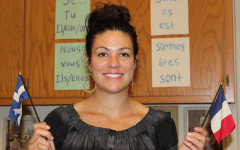 Andreanne Breton joins the foreign language department