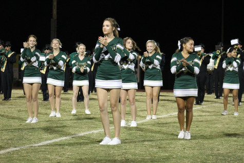 Cheerleaders, where are they?