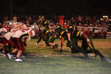 Placer takes the field at Bear River for rivalry game