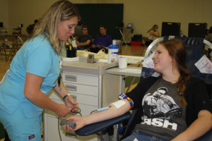 Placer hosts semi-annual blood drive